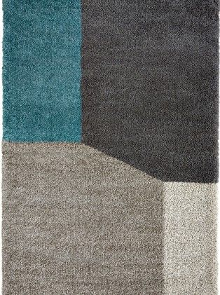 tapis contemporain tapis bleu et gris geo d tail saint. Black Bedroom Furniture Sets. Home Design Ideas