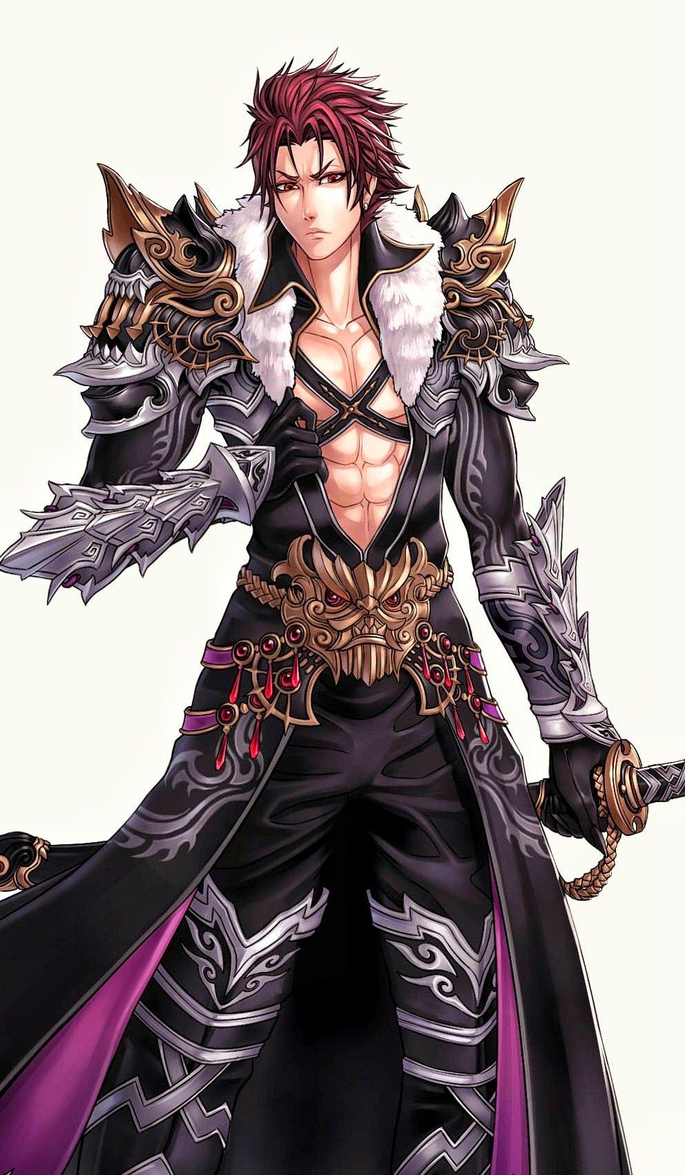 Artstation pride of soul male warriors ren wei pan