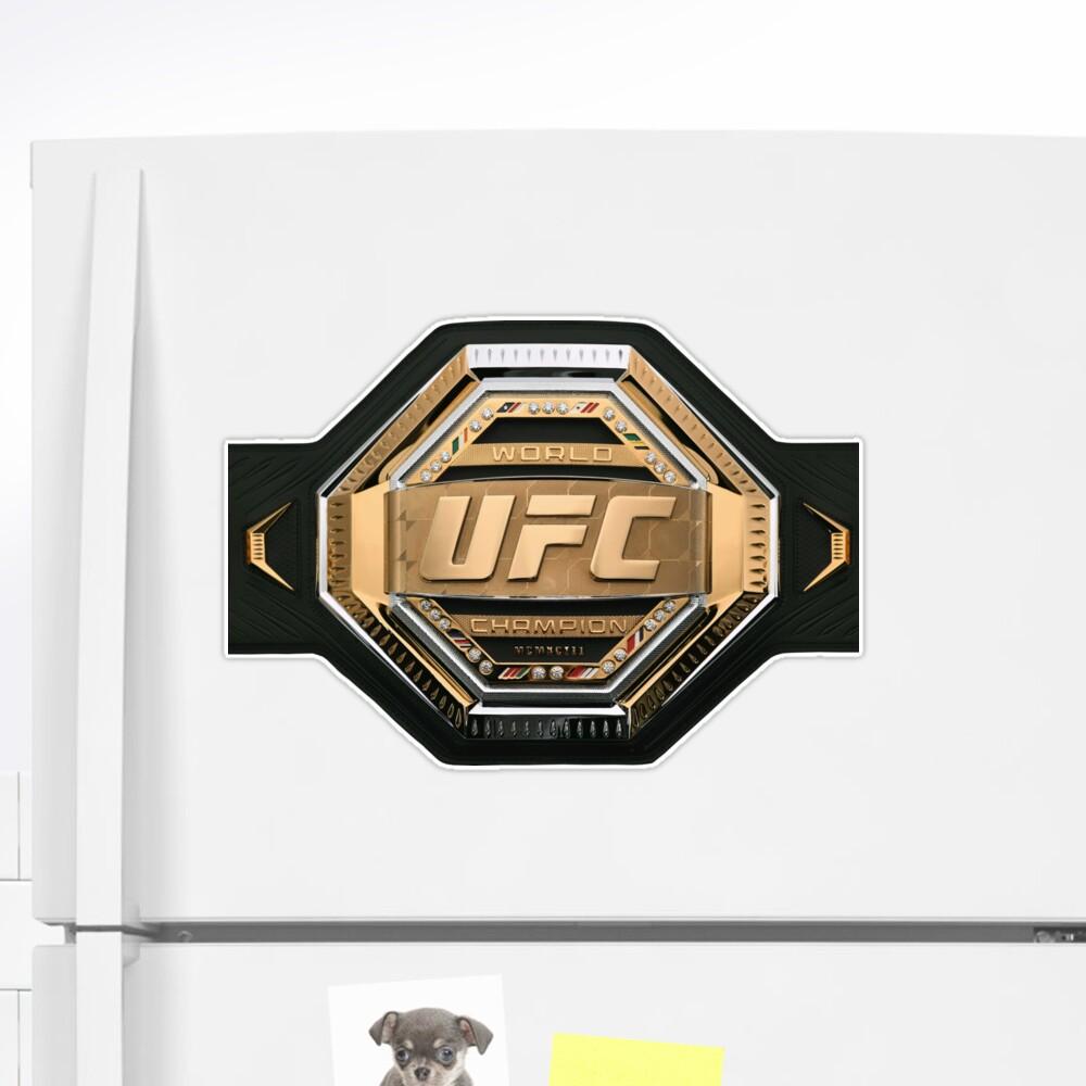 Mixed Martial Arts Fighter Champion Belt Sticker By Under Thetable Martial Arts Mixed Martial Arts Martial