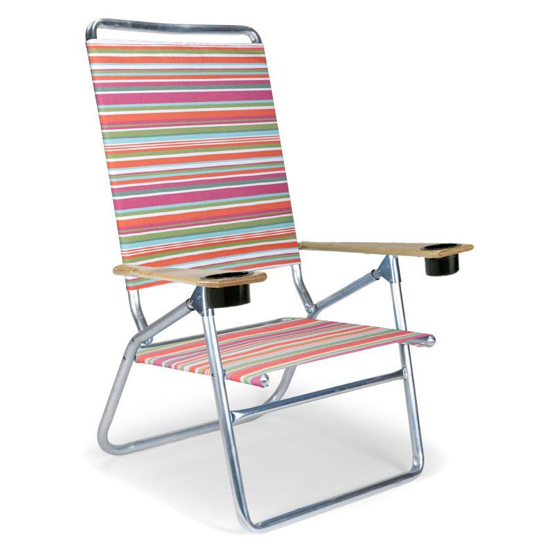 Beach Chairs With Cup Holders Outdoor Egg Chair Have To It Telescope Foldable Light N Easy High Boy Silver Aluminum Frame 113 75 Hayneedle