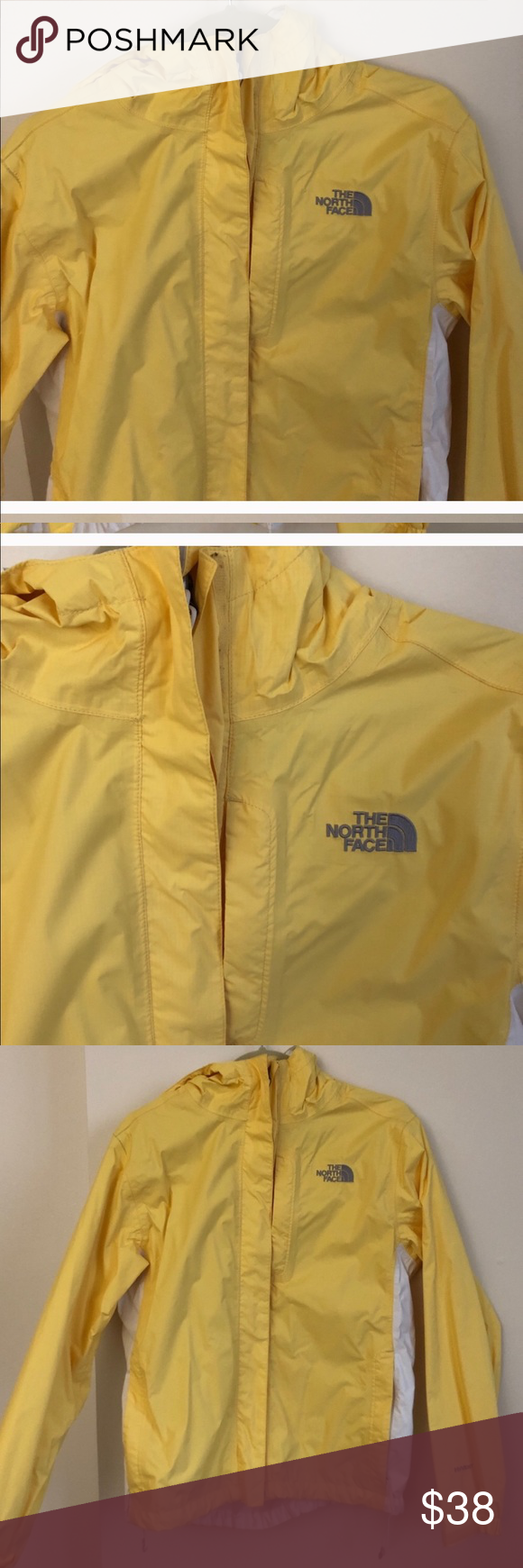 Northface Yellow Rain Jacket Yellow Rain Jacket Jackets Rain Jacket [ 1740 x 580 Pixel ]