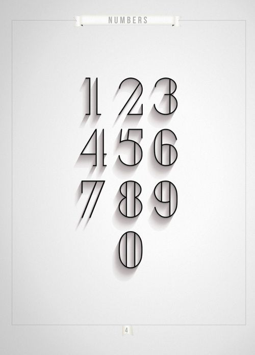 Image result for tattoo numbers design | tattoo 2 | Fonts ...