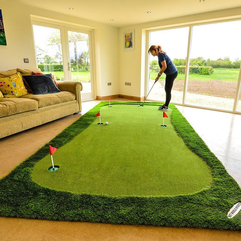 Forb Giant Golf Putting Mat Xl Takes Your Golf Game Into Your Home Or Office Decor Fun Golf Sports We Ve All See Golf Mats Golf Putting Home Putting Green