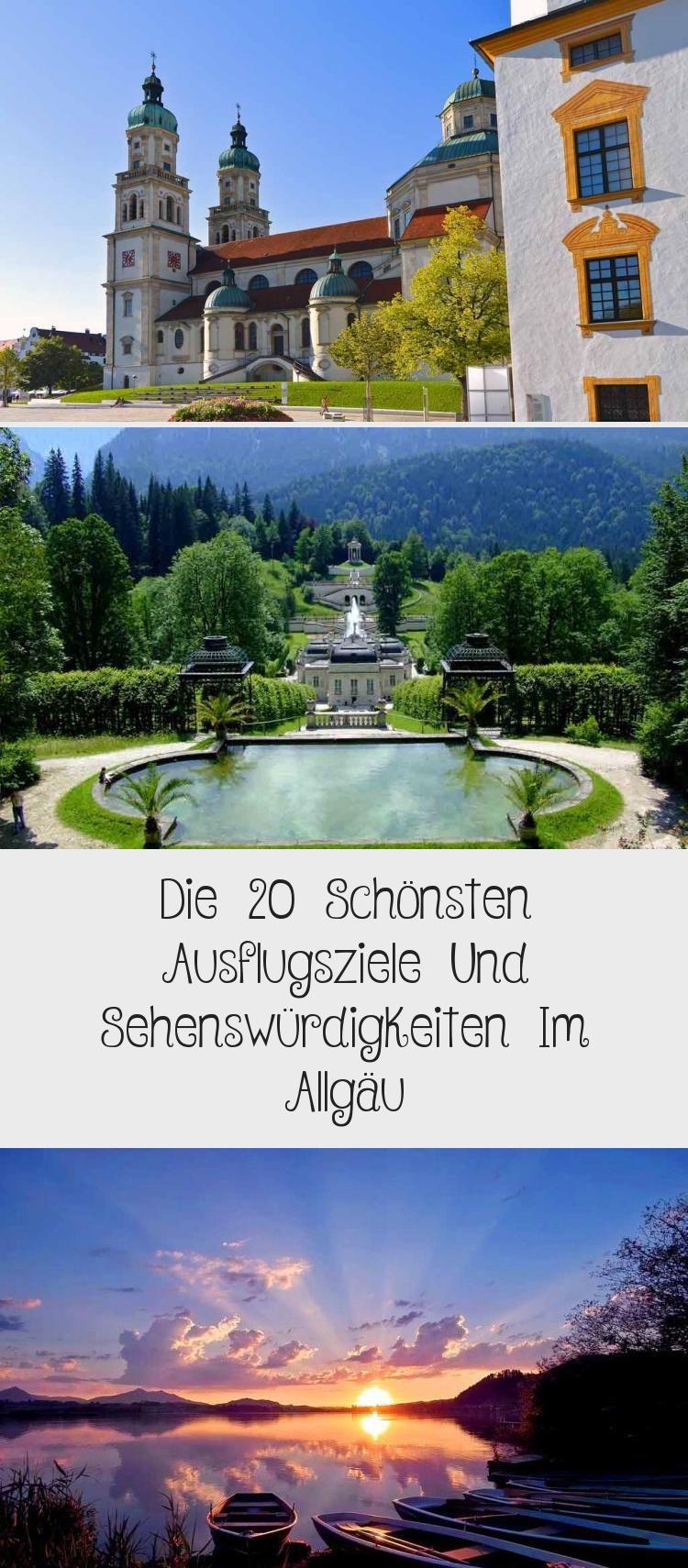 Die 20 Schonsten Ausflugsziele Und Sehenswurdigkeiten Im Allgau Ausflug Allgau Urlaub Ausflugsziele