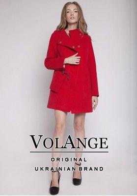 2c1145b8f61 Демисезонное женское пальто VOL ange Коко