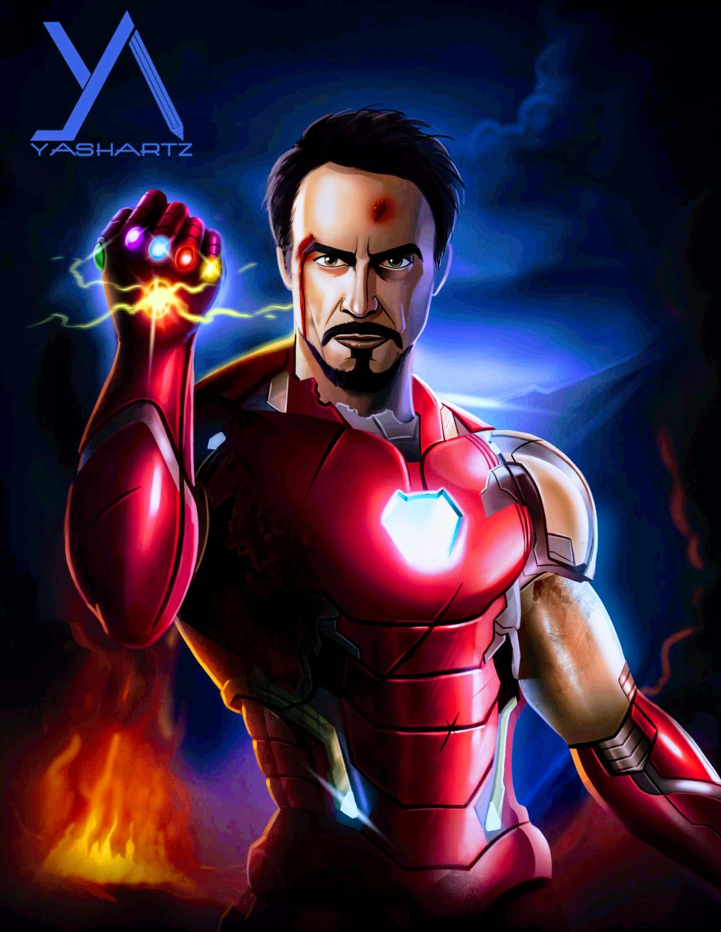 Iron Man - Iron Infinity Gauntlet, Avengers: End Game | Iron man