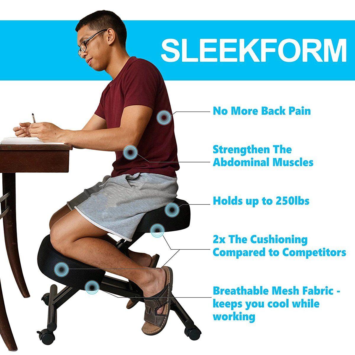 Sleekform Wheeled Kneeling Chair Replacement Hardware