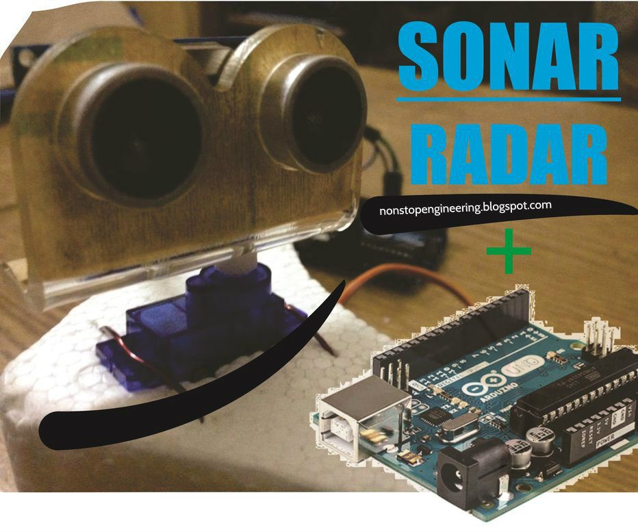Sonar Radar System Using Arduino, Servo & Ultrasonic (HC-SR04) | how