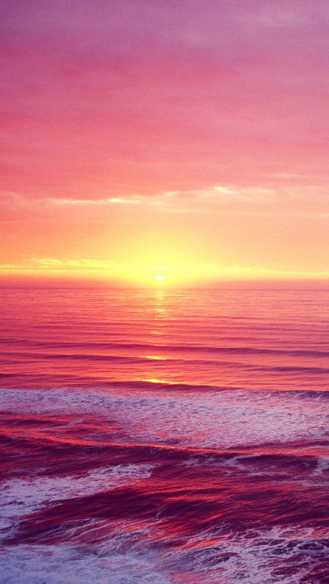 iPhone Retina Wallpapers, nature sunset beach hd wallpaper