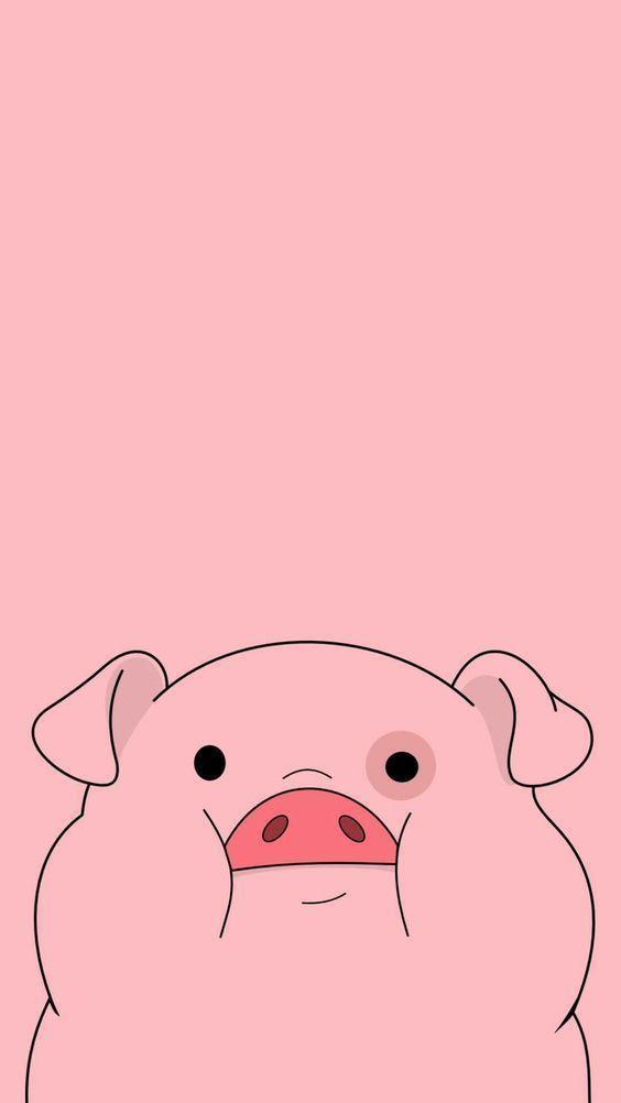 wallpaper cerdito fondo rosa – #cerdito #fondo #Rosa #wallpaper