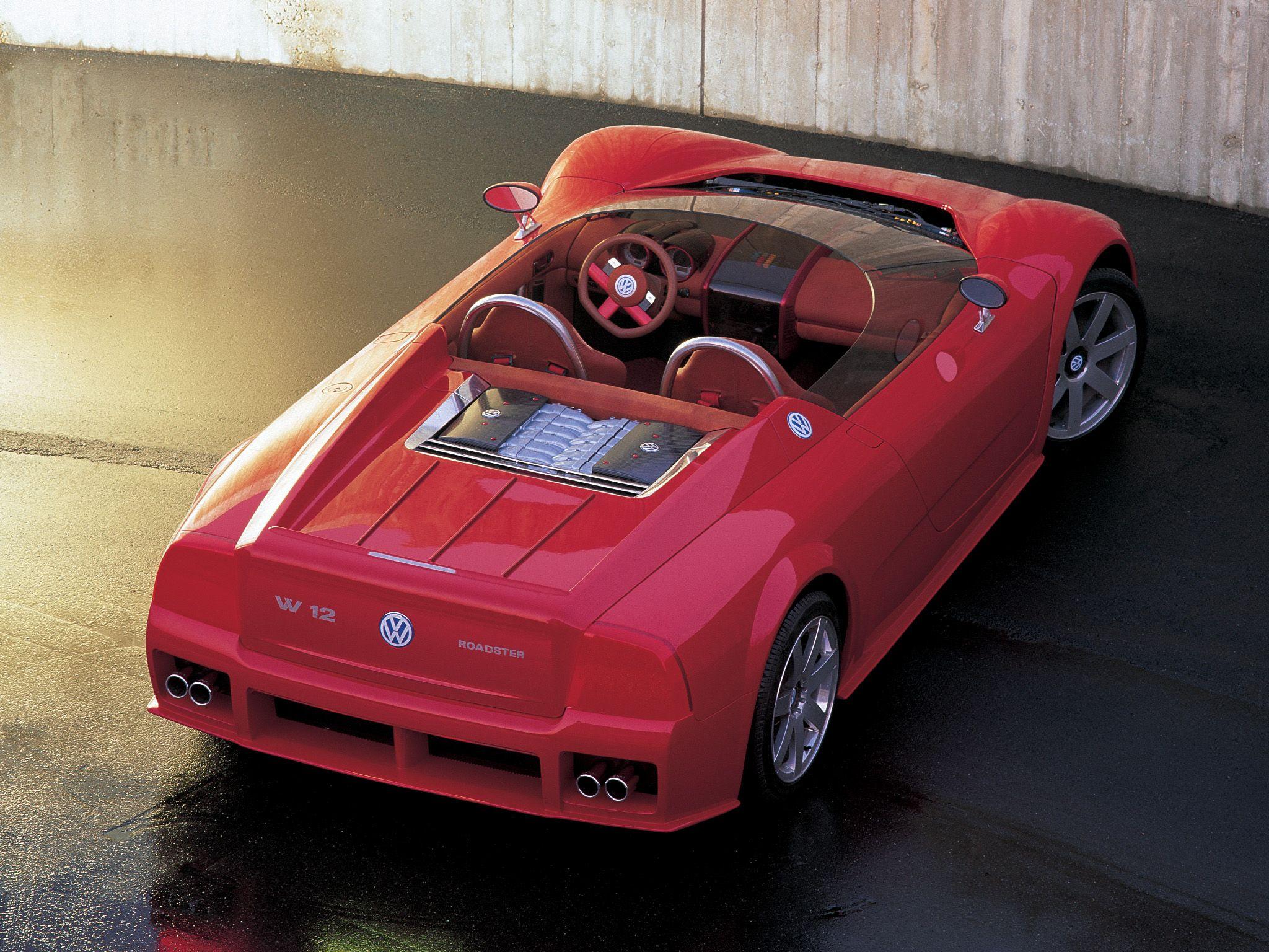 Volkswagen W12 Roadster Concept 1998