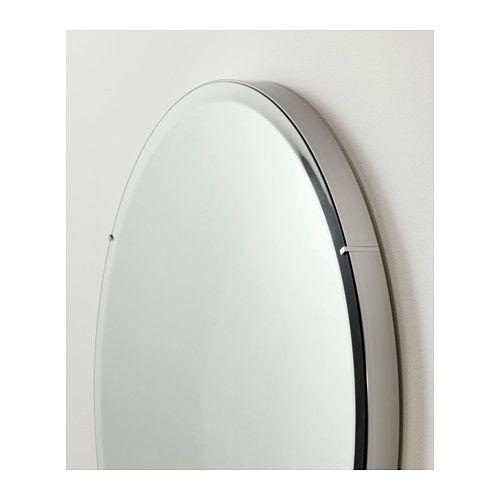 Ronglan miroir ikea miroir avec pellicule anti clats au for Miroir vague ikea
