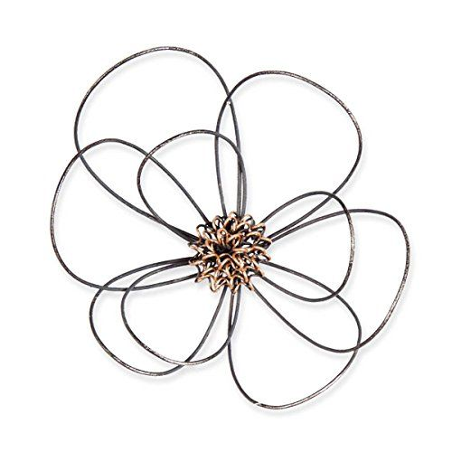 Wire Flower Wall Art Mini Foreside https://www.amazon.com