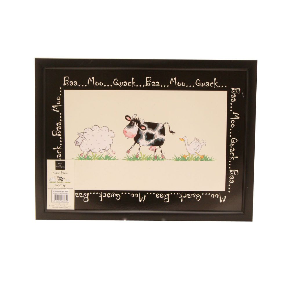 Price Kensington Home Farm Cow Sheep Duck Laptop Lap Tv Tray Cushion Pad Lap Tray Farm Cow Cushion Pads