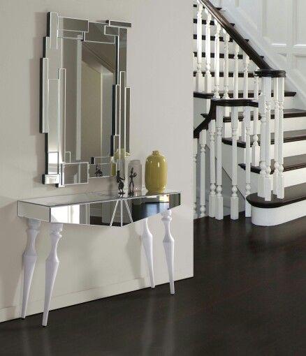 Entradas modernas de cristal - Cristales y espejos ...