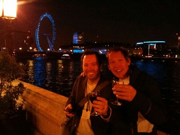 Bunking into the terrace bar at the Houses of Parliament makes for a good night out.