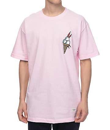 136db543e28 40s   Shorties Ice Cream Pink T-Shirt