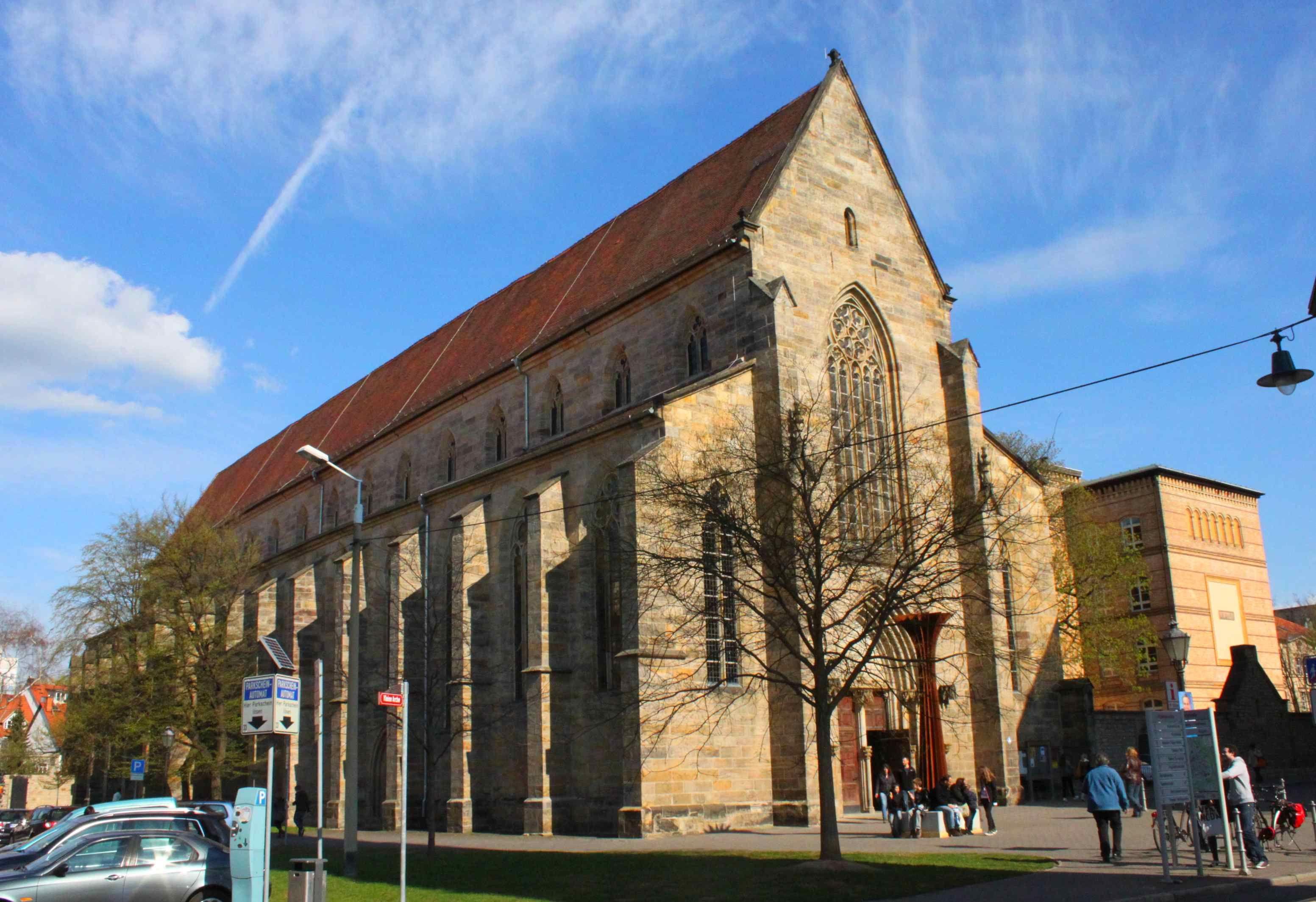 predigerkirche erfurt - Chiesa dei Domenicani a Erfurt, fondata con l'annesso convento nel 1229 e costruita fra il 1278 e il 1380, è uno dei principali edifici degli Ordini Mendicanti in Germania.