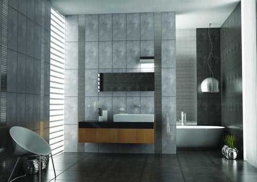 Carrelage Cement HITIT SERAMIK TANGUY Matériaux Salle de bains