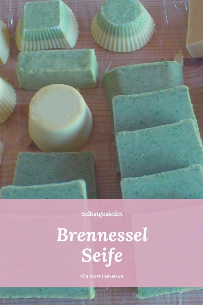 selbstgesiedete Brennesselseife für Haut und Haar   Seife ...
