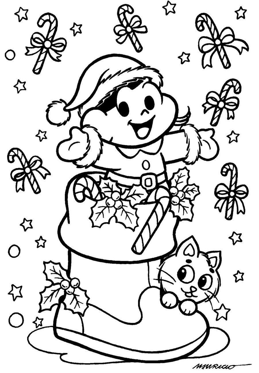Notcias Ponto Desenhos Para Colorir Natal Desenhos Para Colorir