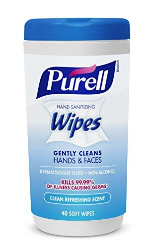 Purell 912003ec Hand Sanitizing Wipes Clean Refreshing Scent 40