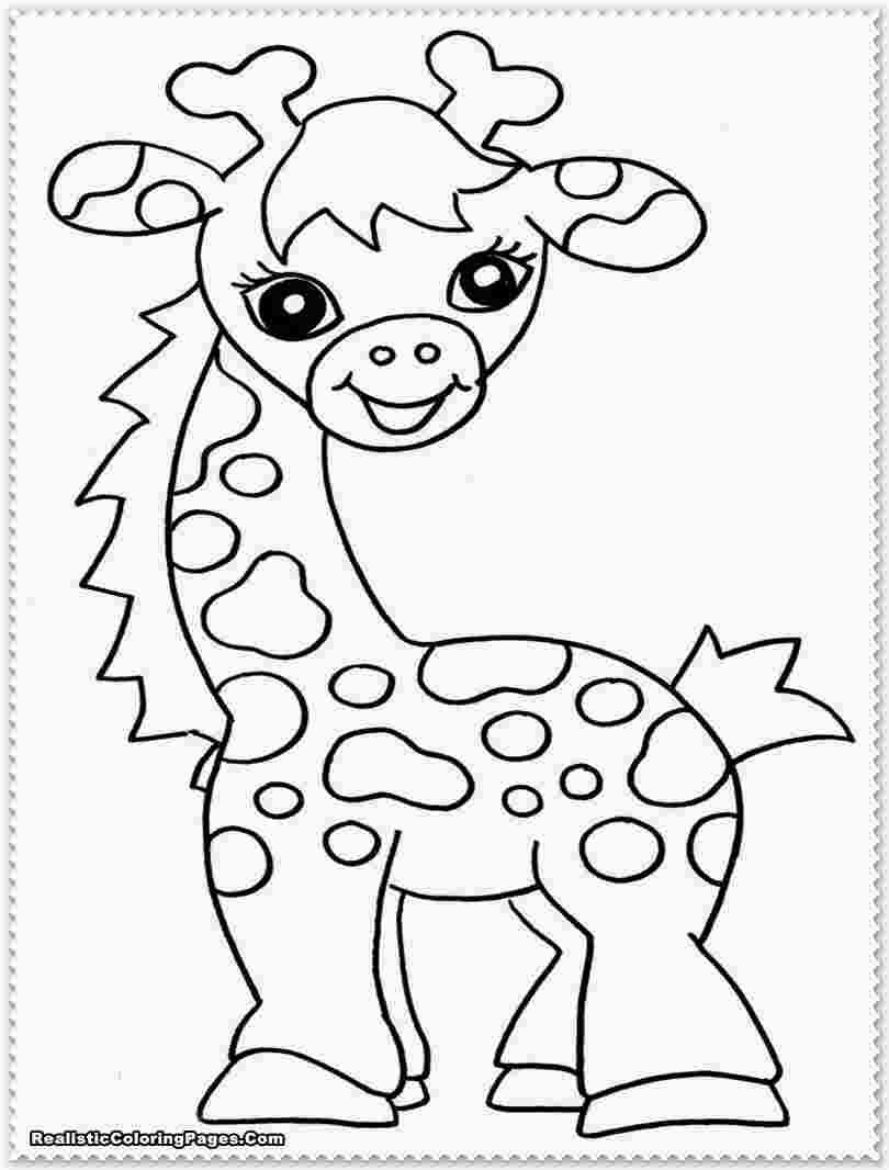 Baby Jungle Animals Coloring Pages Giraffe Coloring Pages Zoo Animal Coloring Pages Animal Coloring Pages
