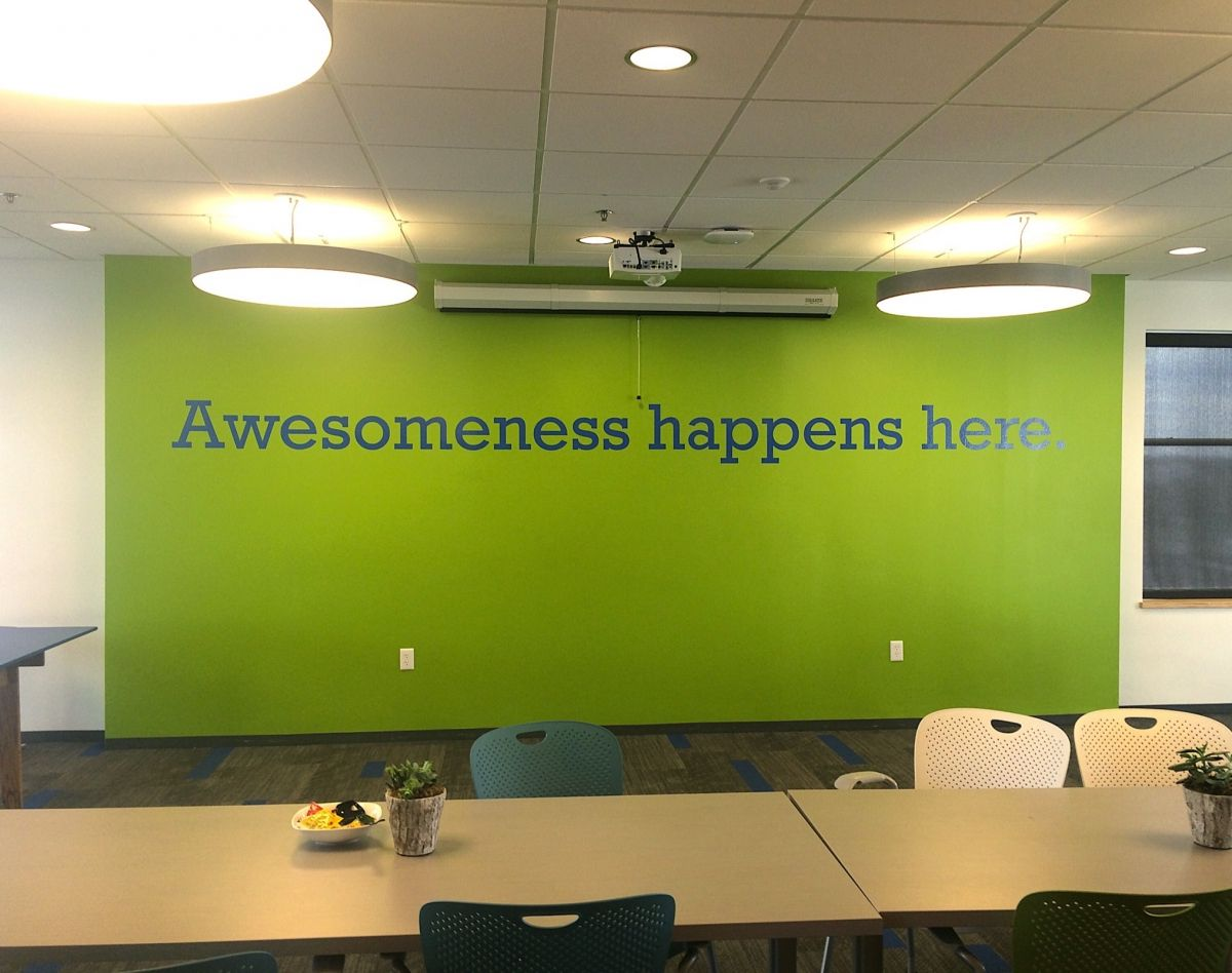 3 cool office spaces office spaces spaces and office Cool wall signs