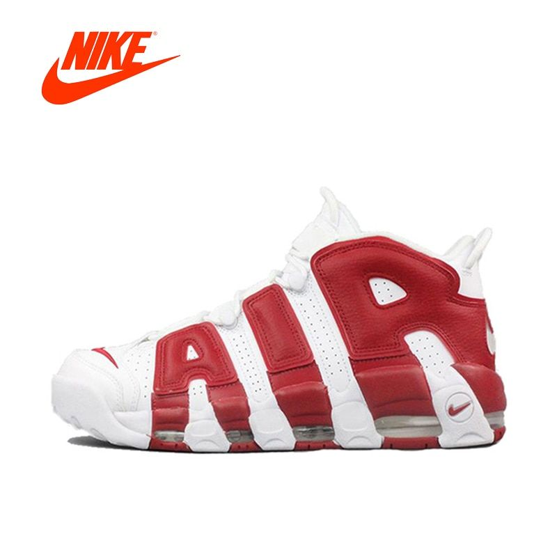 2851af5d3ba0 Original New Arrival Authentic Nike Air More Uptempo Men s Basketball Shoes  Sports Sneakers