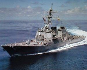 U.S. Navy USS Cole DDG 67 Guided Missile Destroyer