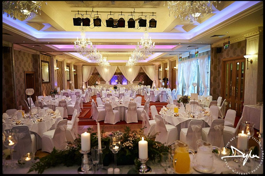 Beautiful Wedding Reception At Manor House Country Hotel In Fermanagh Northern Ireland