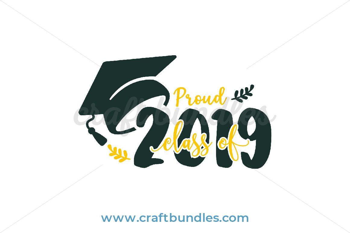 FREE Class of 2019 SVG Cut File | decals | Svg cuts