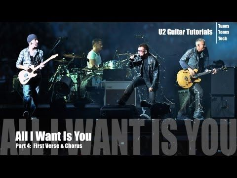 All I Want Is You U2 Youtube Concert Good Music Guitar