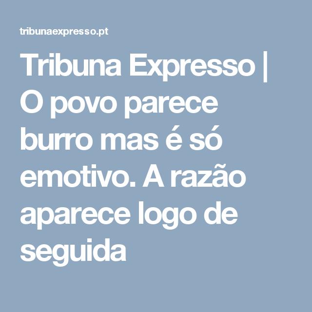 Tribuna Expresso  7068a1e289906
