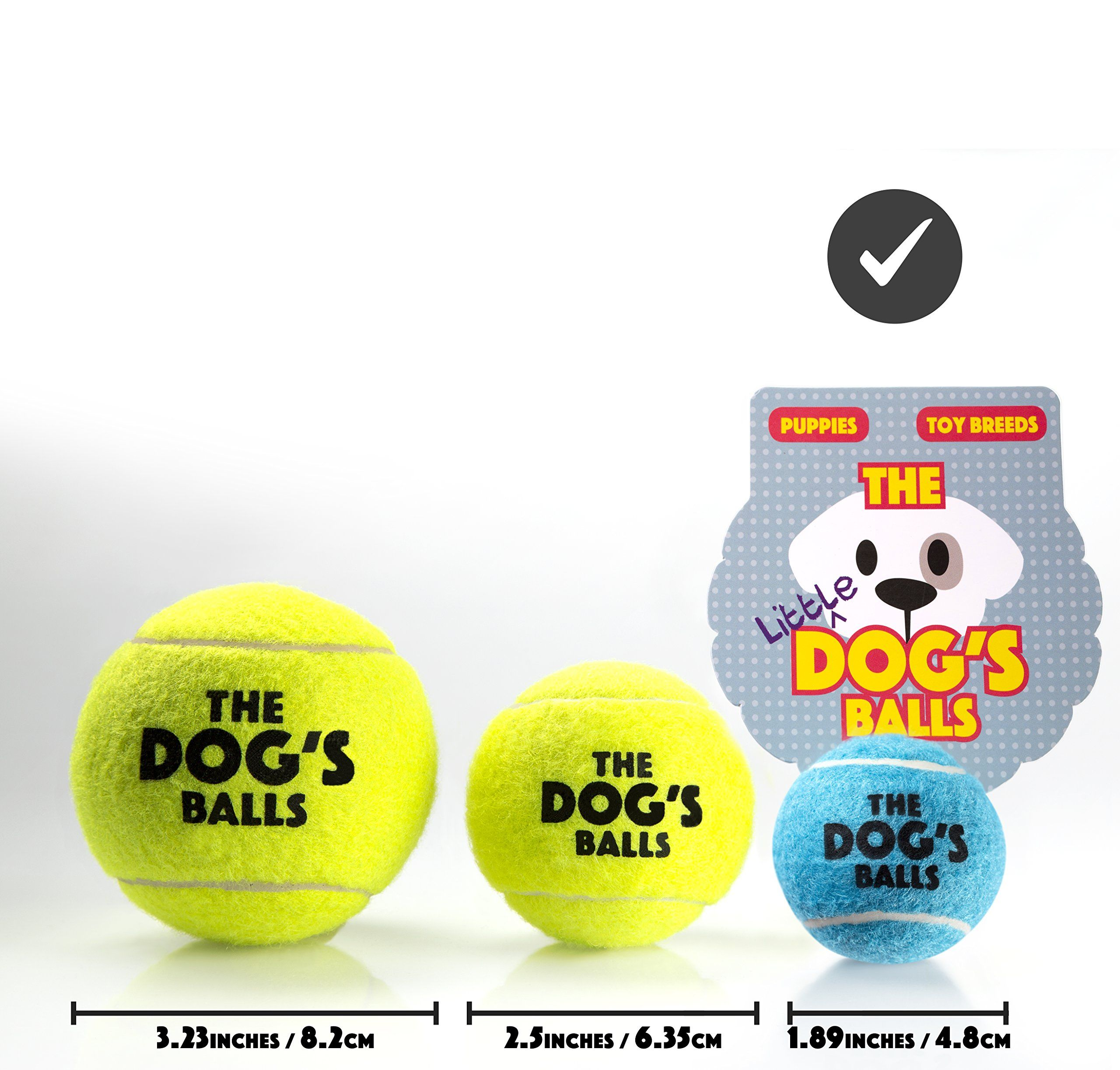 The Dogs Balls Tennis Balls For Dogs Premium Mini Dog Toy For Puppies And Small Dogs Puppy Exercise Play Training And F Dog Ball Dog Toys Toy Puppies