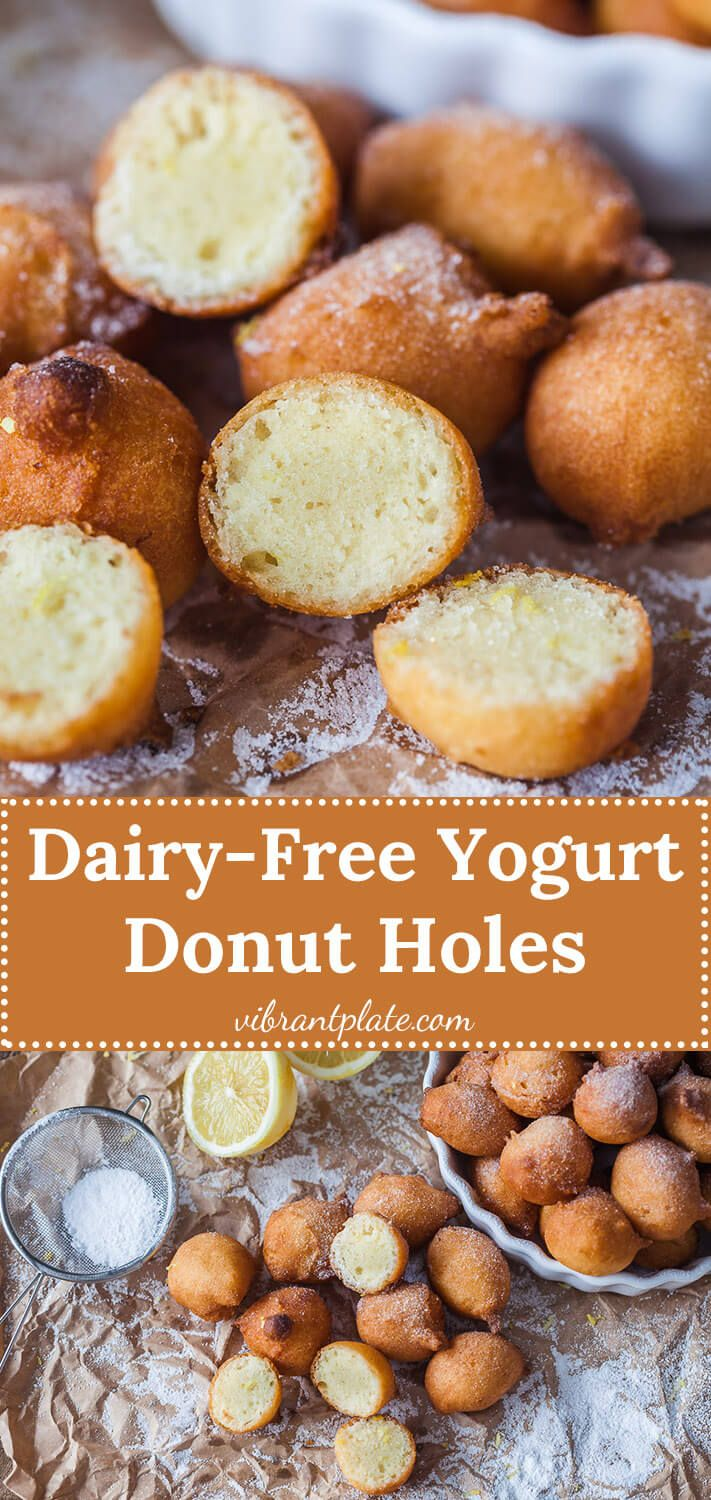 Yogurt Donut Holes are the perfect alternative to donuts ...