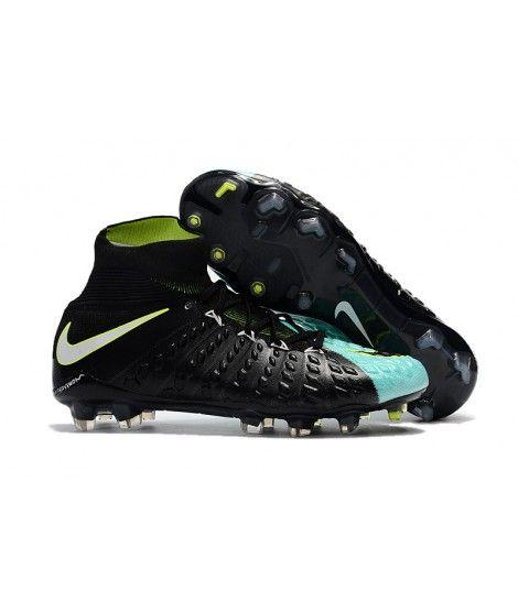 on sale 75178 3be60 Nike Hypervenom Phantom III DF FG Schwarz Blau Weiß Gelb Fußballschuhe