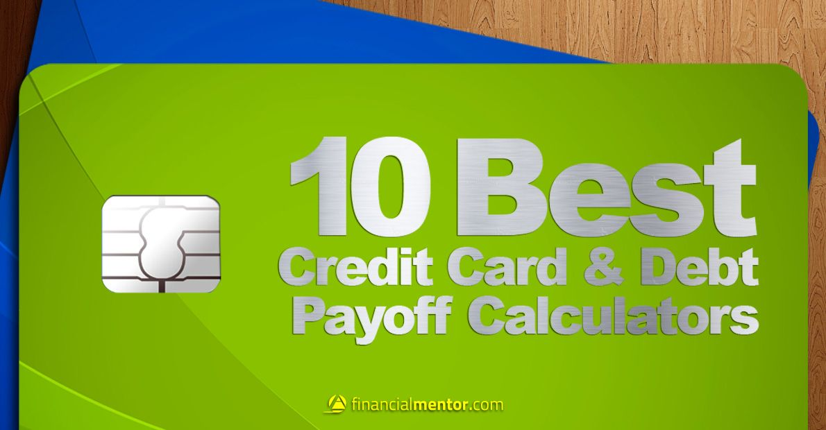 Calculators to help you with #credit cards and #debt payoff - credit card payoff calculator spreadsheet