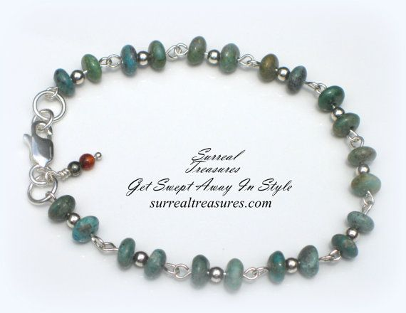 TURQUOISE  Our Turquoise and Sterling silver by SurrealTreasures