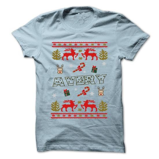Christmas AVERY ... 999 Cool Name Shirt ! - #vintage sweater #red sweater. CHEAP PRICE => https://www.sunfrog.com/LifeStyle/Christmas-AVERY-999-Cool-Name-Shirt--71088291-Guys.html?68278