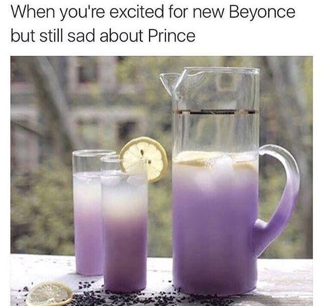 . ☔️ #Lemonade #beyonce #ripprince