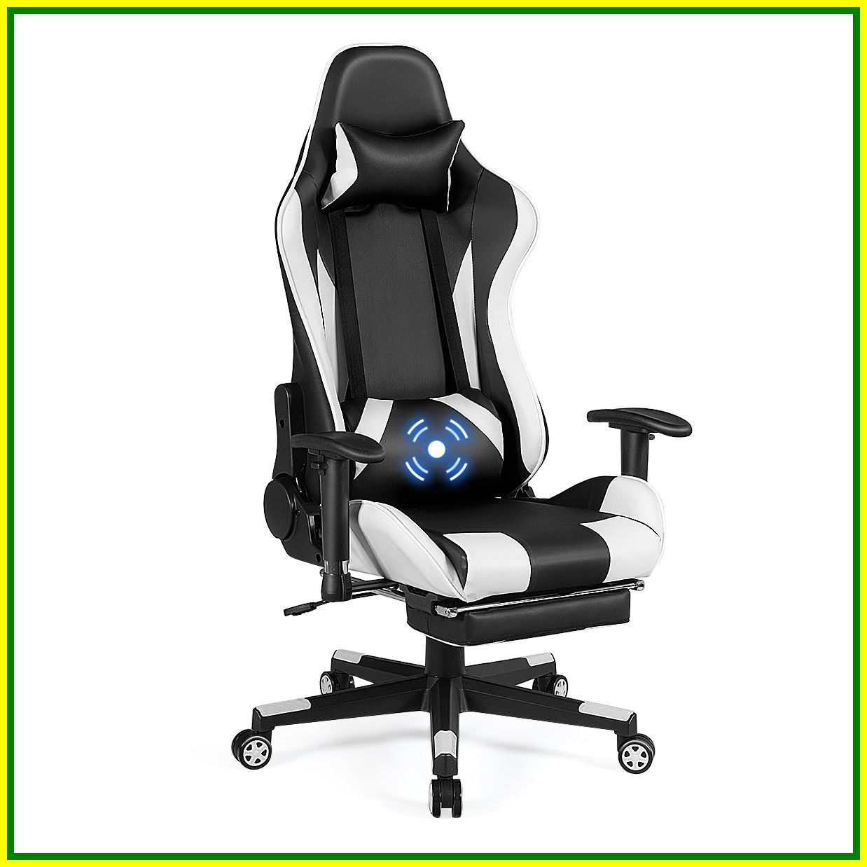 58 reference of massage gaming chair with footrest in 2020