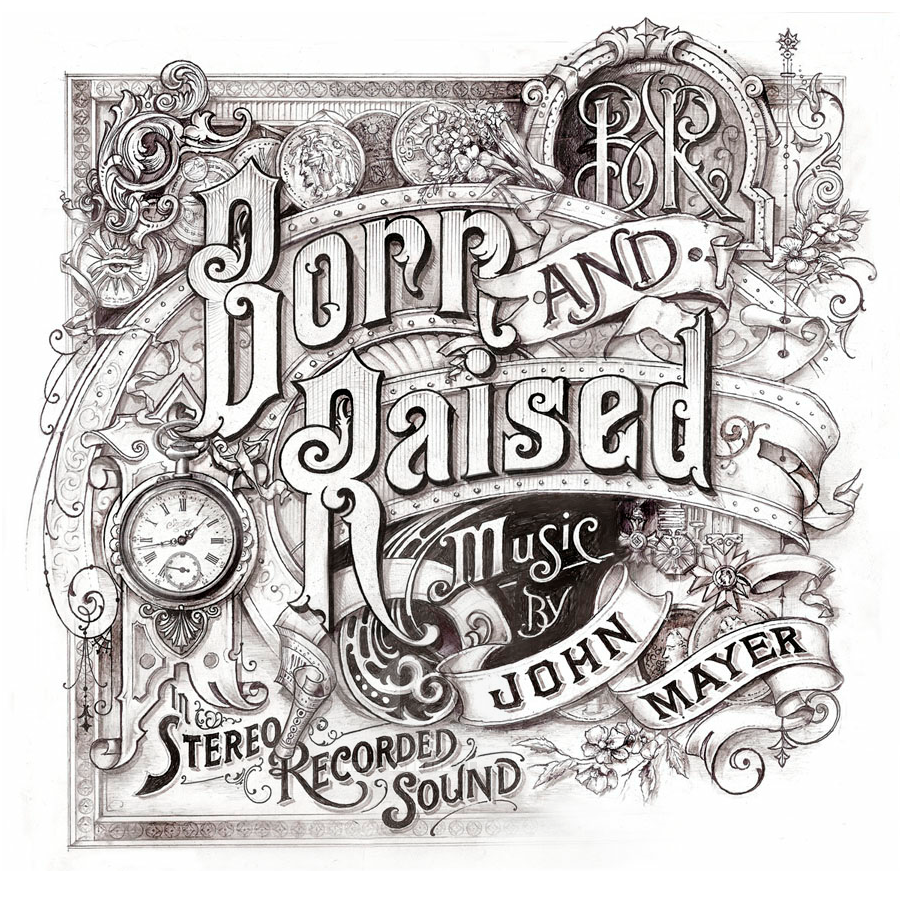 John Mayer Cool Painting: A Showcase Of Amazing Hand Lettering