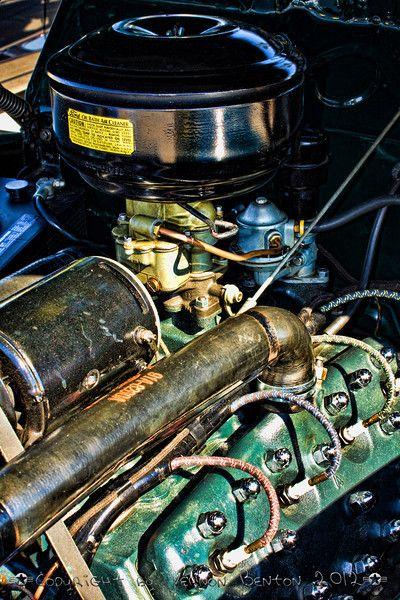 Classic Ford Pickup Motor - ART OF THE MACHINE PHOTOGRAPHY - VERNON BENTON