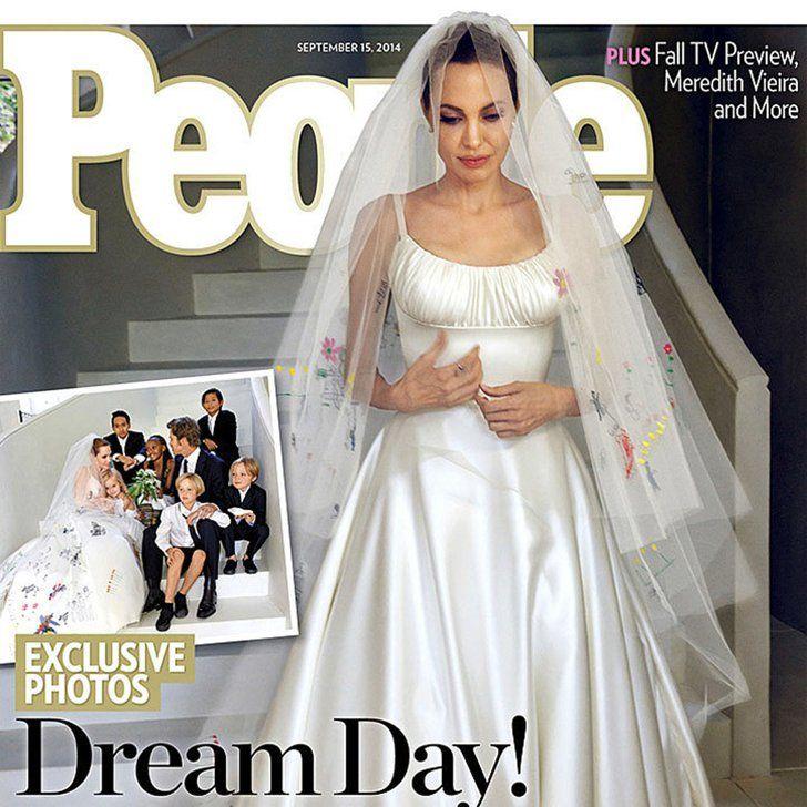 Angelina Jolie S Wedding Dress Isn T Even Her Best Versace Look