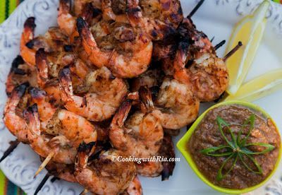 Ria's Caribbean Pepper-Jerk Shrimp #jerkshrimp Ria's Caribbean Pepper-Jerk Shrimp #jerkshrimp