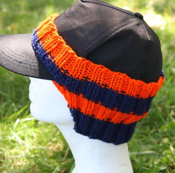 Ear Warmer for Baseball Cap in Blue and by JenniferWhiteDesigns ...