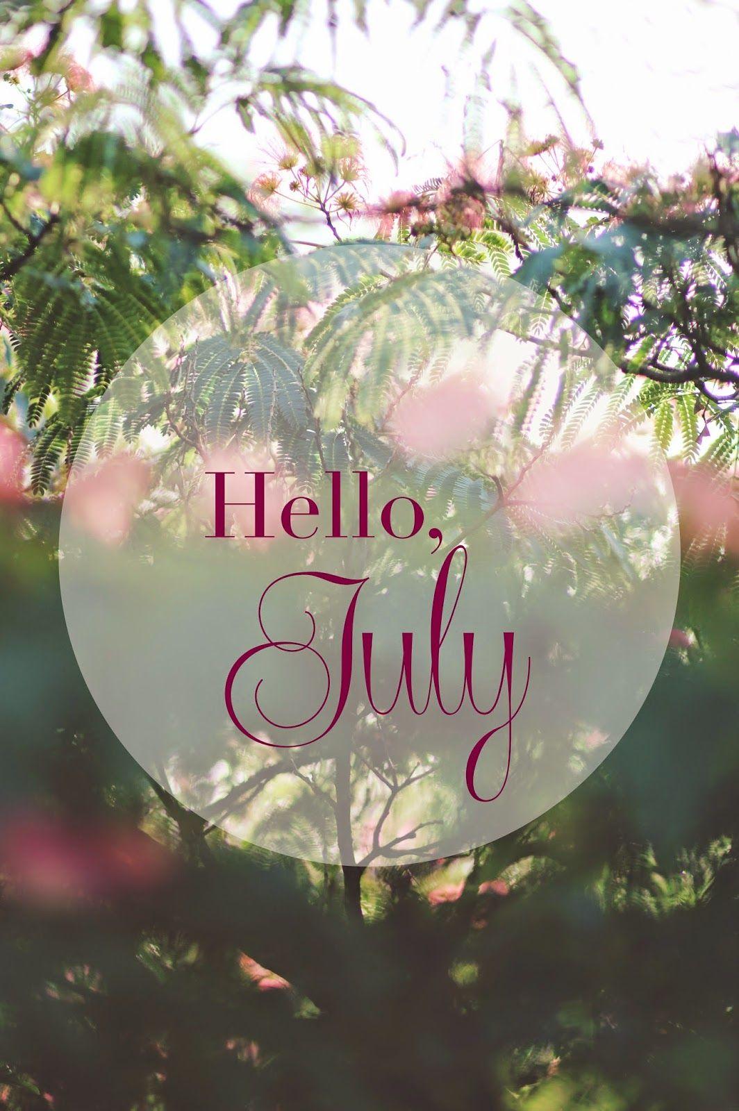 Hello, July   Morgane LB