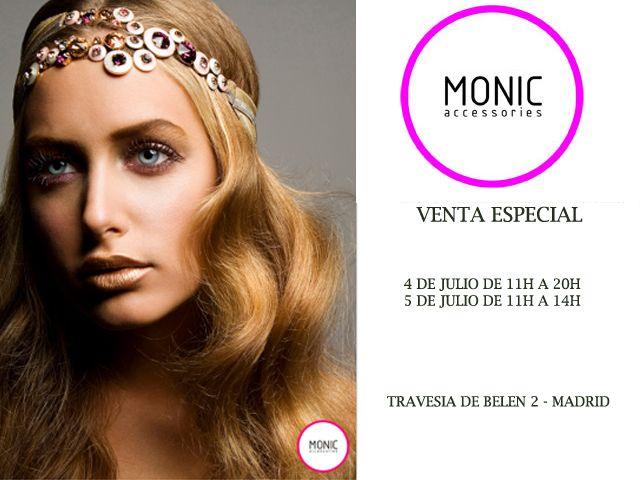 Venta Especial Tocados MONIC Verano 2014  79a74acecc9