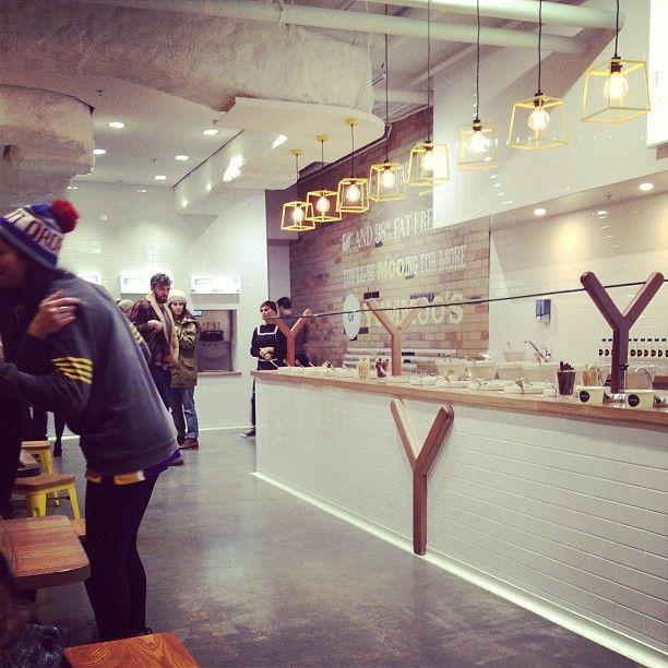 Retail Store Storage Furniture Design Of Mud Australia: Nice Looking Froyo Shop, Yummoo In Melbourne, Australia